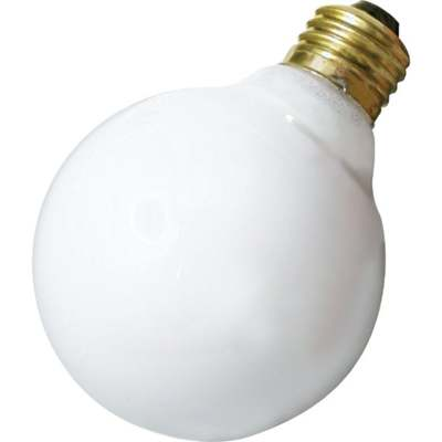 BULB 40W G25 MEDIUM BASE WHITE