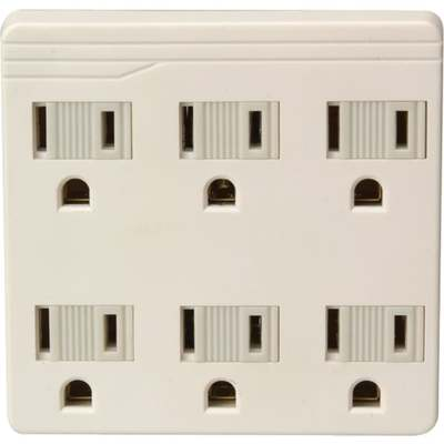 IVORY 6 OUTLET GROUNDING