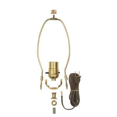 MAKE LAMP W/PUSH THRU SOCKET