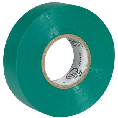 """TAPE ELECTRICAL 3/4""""X60 GREEN"""