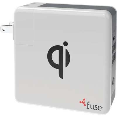 QI WALL DUAL USB CHARGER