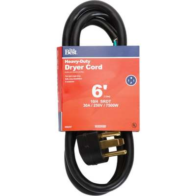 CORD DRYER 6' 4 PRONG