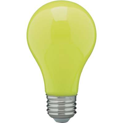 BULB 60W A19 MED BUG LIGHT Y