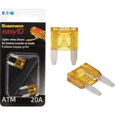 Departments - 2PK 20A ATM EASY ID FUSE