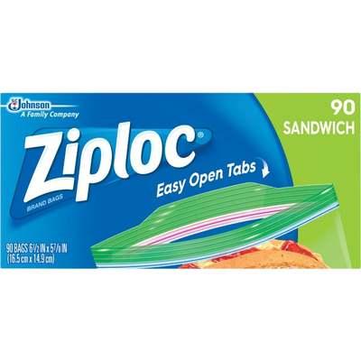 90CT ZIPLOC SANDWCH BAG