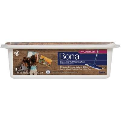 BONA - WOOD FLOOR CLEANING PADS
