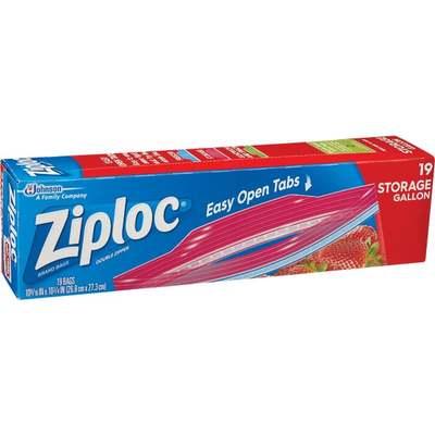 GALLON ZIPLOC STORAGE BAG