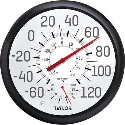 THERMOMETER DIAL W/ HUMIDITY