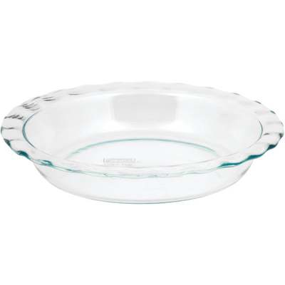 """9-1/2"""" CLEAR PIE PLATE"""