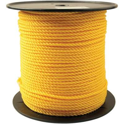 """1/4""""X600' POLY TWST ROPE"""