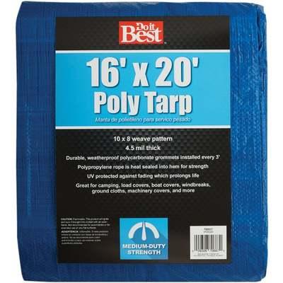TARP - BLUE / 16 X 20