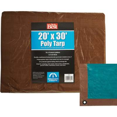 TARP - BROWN / 20 X 30