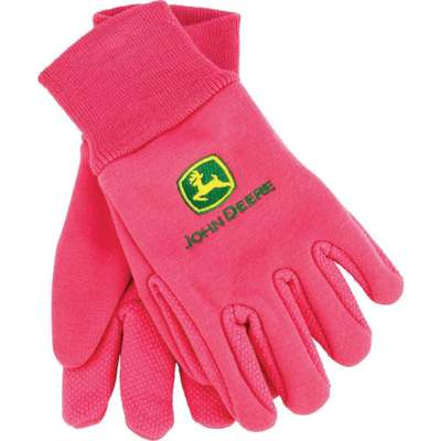 YOUTH PINK JERSEY GLOVE
