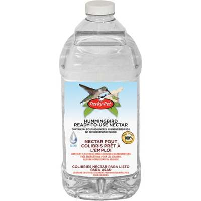 HUMMINGBIRD NECTAR CLEAR 64OZ