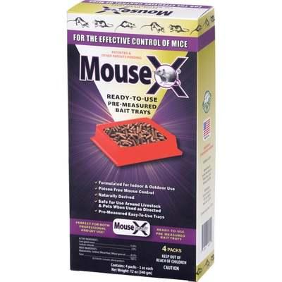 MOUSEX 4PL BAIT TRAYS