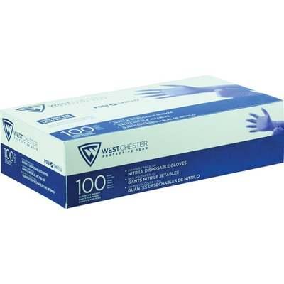 GLOVES BLUE 100 PAK S