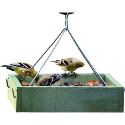BIRD FEEDER HANGING TRAY