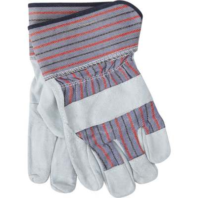 GLOVES LEATHER PALM L