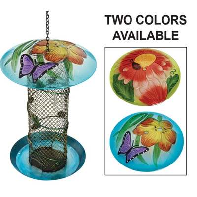 GLASS/MESH BIRD FEEDER
