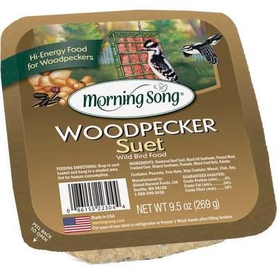 BIRD SEED SUET WOODPECKER