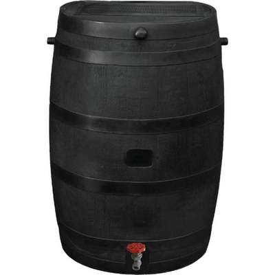 BLACK ECO RAIN BARREL 50 GAL