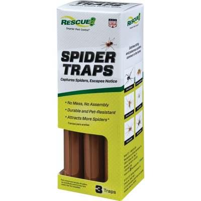 RESCUE 3PK SPIDER TRAP