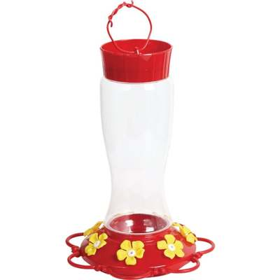 30OZ HUMMINGBIRD FEEDER PLASTIC