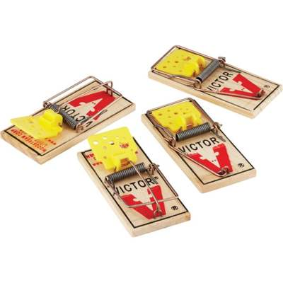 VICTOR MOUSE TRAP (4 PACK)