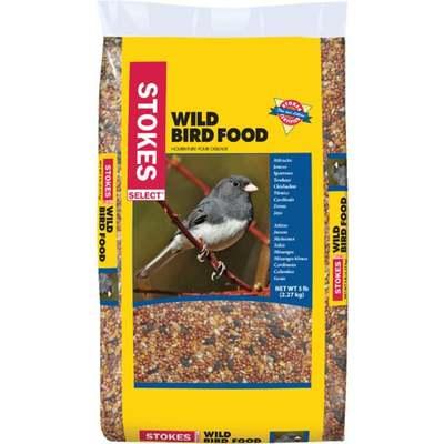 BIRD SEED DIB WILD 5LB