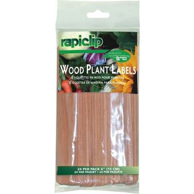 """SEED START PLANT LABELS 6"""" W"""