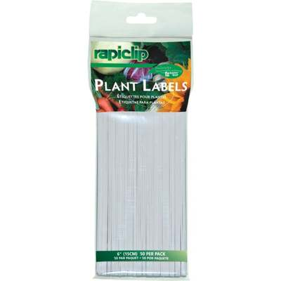 """SEED START PLANT LABELS 6"""""""