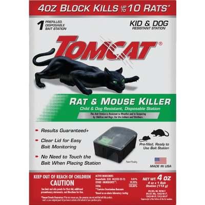 DISPOSABLE RAT BAIT STATION