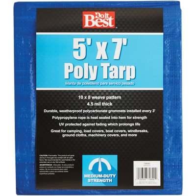 TARP - BLUE / 5 X 7