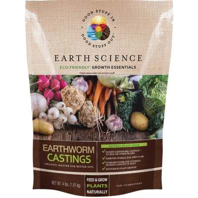 4# EARTHWORM CASTINGS