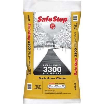 SAFE STEP 25 LB SALT ICE MELTER