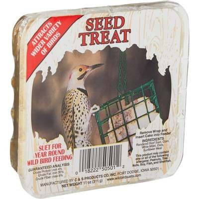 BIRD SEED SUET SEED TREAT
