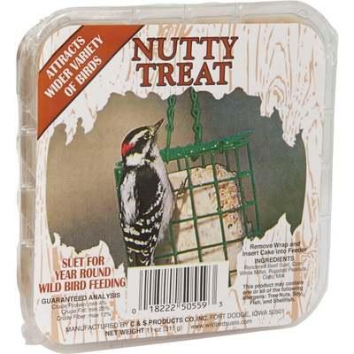 BIRD SEED SUET NUTTY TREAT