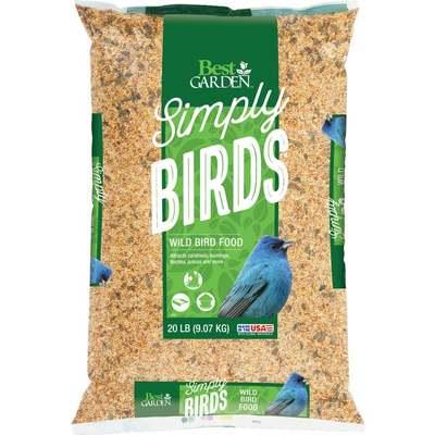 BIRD SEED DIB WILD 20LB