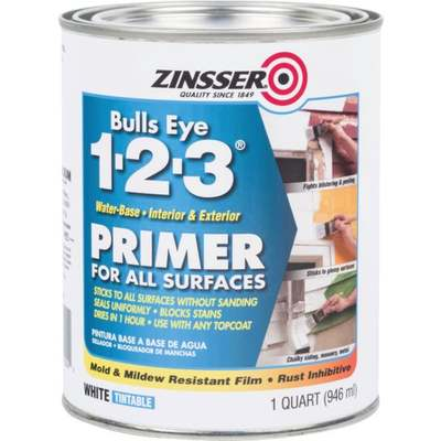 QT ZINSSER 1-2-3 PRIMER (Price includes PaintCare Recycle Fee)