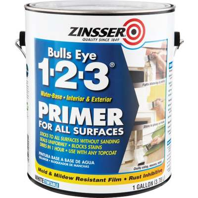 GAL ZINSSER 1-2-3 STAIN BLOCKER (Price includes PaintCare Recycle Fee)