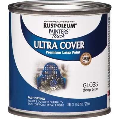 RUST-OLEUM LATEX DEEP BLUE 1/2PT