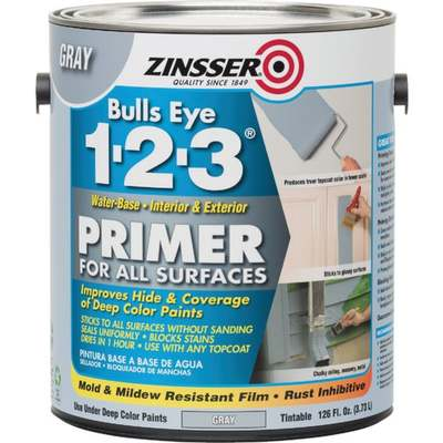 ZIN 1-2-3 GRAY STNBLK PRIMER GAL (Price includes PaintCare Recycle Fee)