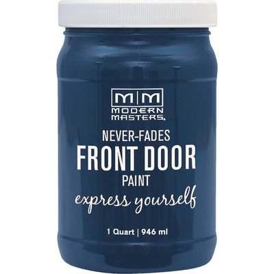 CALM BLUE FRONT DOOR PAINT QT (Price includes PaintCare Recycle Fee)