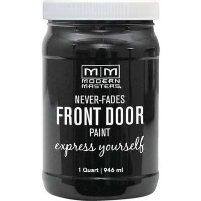 ELEGANT BLK FRONT DOOR PAINT QT (Price includes PaintCare Recycle Fee)