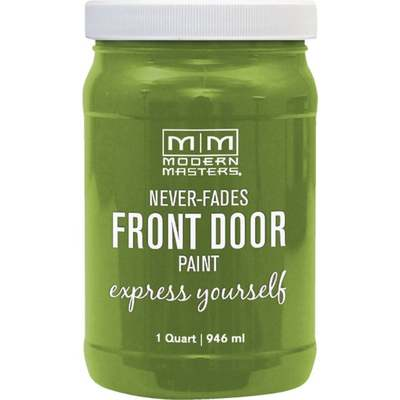 FORTUNATE GRN FRT DOOR PAINT QT (Price includes PaintCare Recycle Fee)