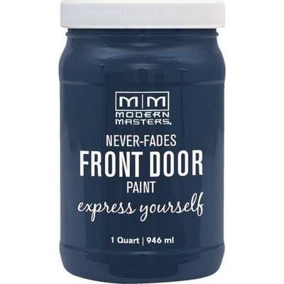 SERENE BLUE FRONT DOOR PAINT QT (Price includes PaintCare Recycle Fee)