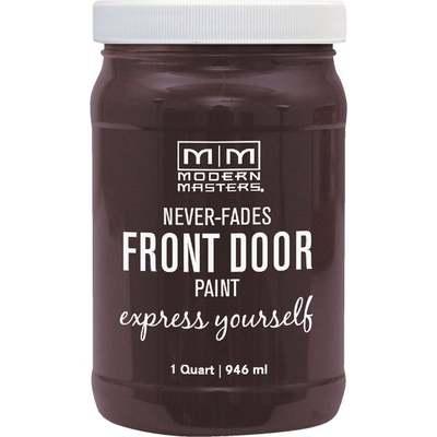 SINCERE BROWN FRT DOOR PAINT QT (Price includes PaintCare Recycle Fee)