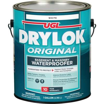 GAL DRYLOCK LATEX WTRPRFR WHITE (Price includes PaintCare Recycle Fee)