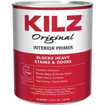 KILZ PRIMER/SEALER QT (Price includes PaintCare Recycle Fee)