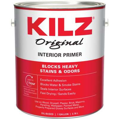 KILZ INT OIL PRIMER GAL (Price includes PaintCare Recycle Fee)